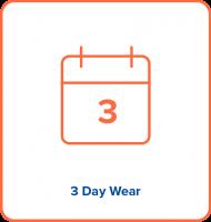 1A Biosensor has 3 day wear