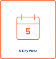 5 day wear